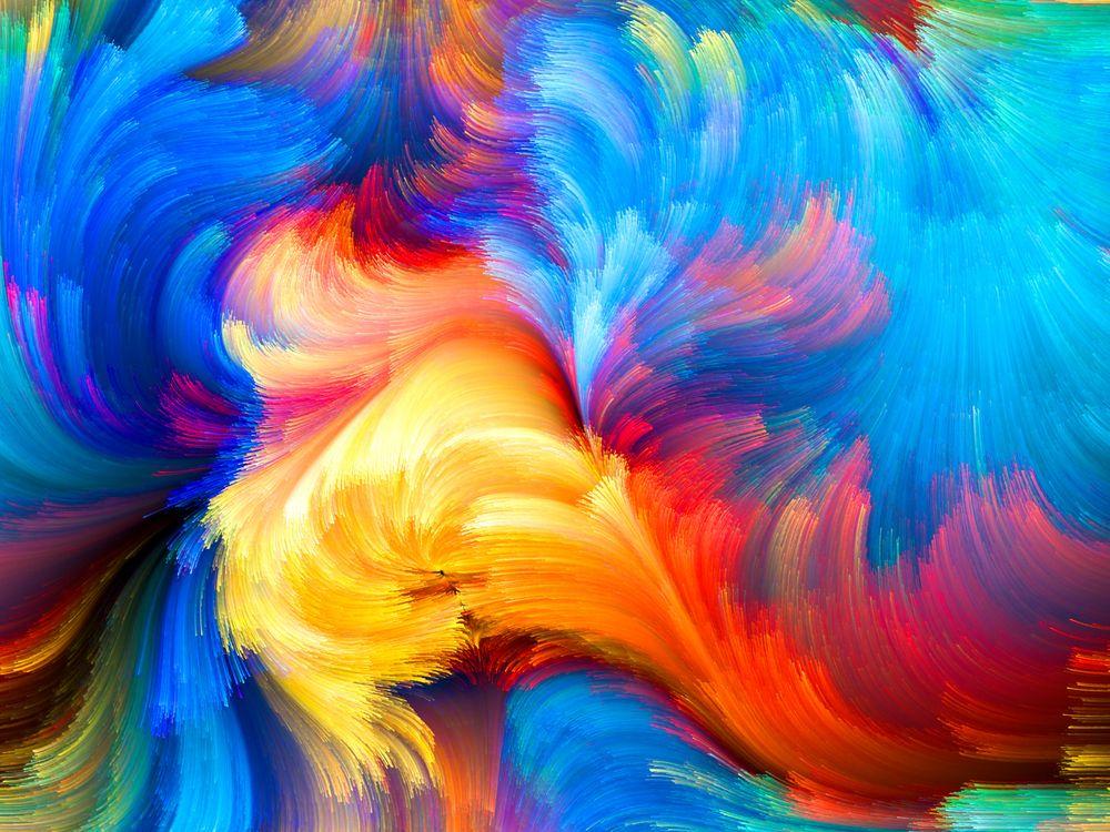 Краска и оттенки · бесплатное фото
