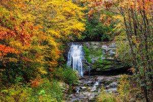 Фото бесплатно Осенние краски, Большой дымный национальный парк, Осень