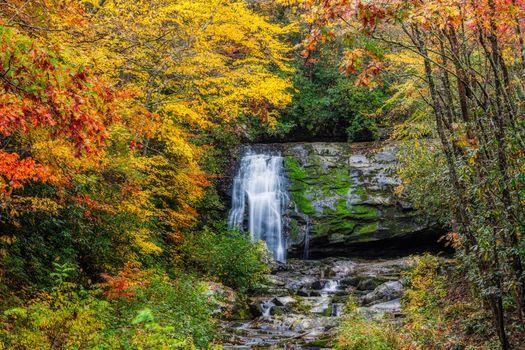 Заставки Осенние краски, Большой дымный национальный парк, Осень