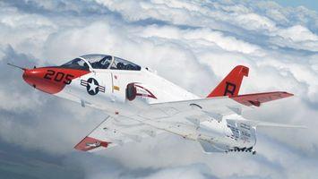 Заставки самолет, истребитель, учебный, кабина, крылья, хвост, полет