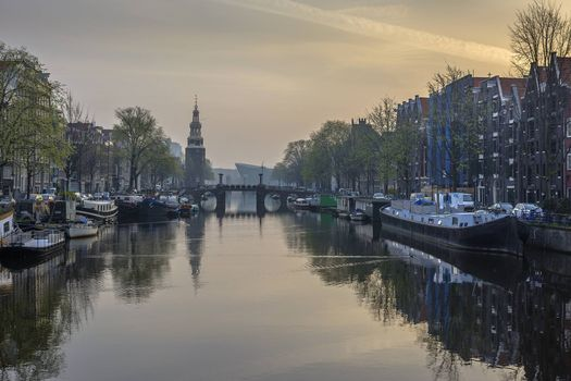 Wallpaper the capital and largest city of the netherlands, amsterdam