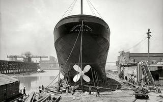 Бесплатные фото док, корабль, ремонт, люди, рабочие, черно-белое
