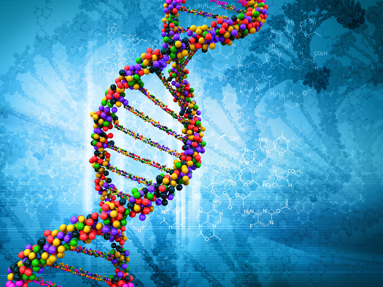 Обои молекула, ДНК, наука, биология