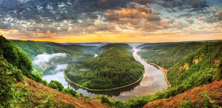 Фото бесплатно Mettlach, German, Horseshoe Bend