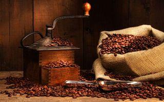 Бесплатные фото мешок,кофе,зерна,кофемолка,лопатка