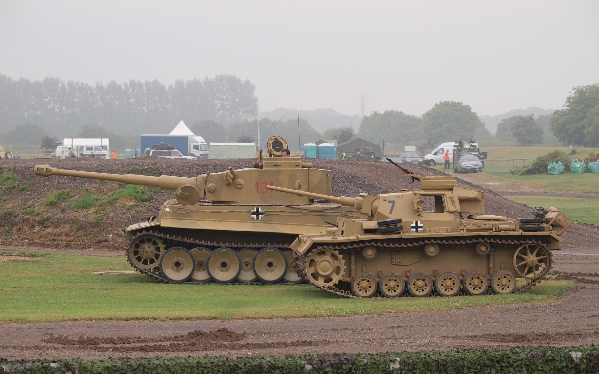 немецкие танки, дула, стволы