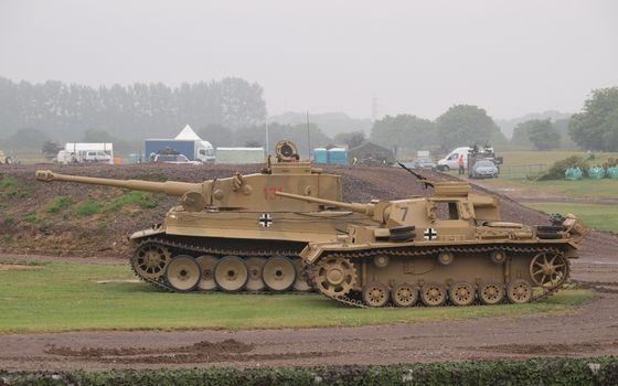 Фото бесплатно немецкие танки, дула, стволы