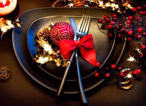 Фото бесплатно Новогодний стол, дизайн, Новый год