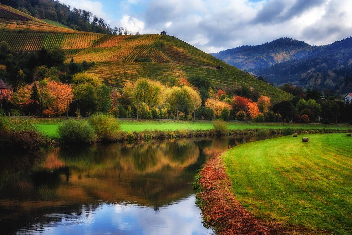 Фото бесплатно Баден Вюртемберг, осень, Autumn in Germany - на рабочий стол
