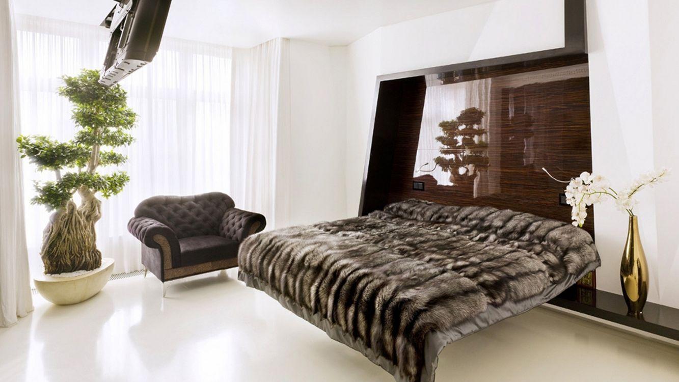 Free photo room, bed, vase - to desktop