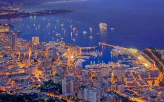 Бесплатные фото вечер,побережье,пристань,море,суда,дома,улицы