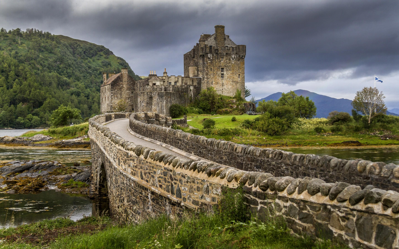 Замок Эйлен-Донан, Великобритания, стена