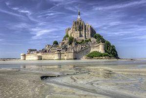 Фото бесплатно Mont Saint-Michel, Мон-Сен-Мишель, Франция