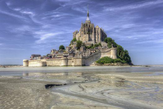 Download mont-saint-michel, mont saint-michel picture