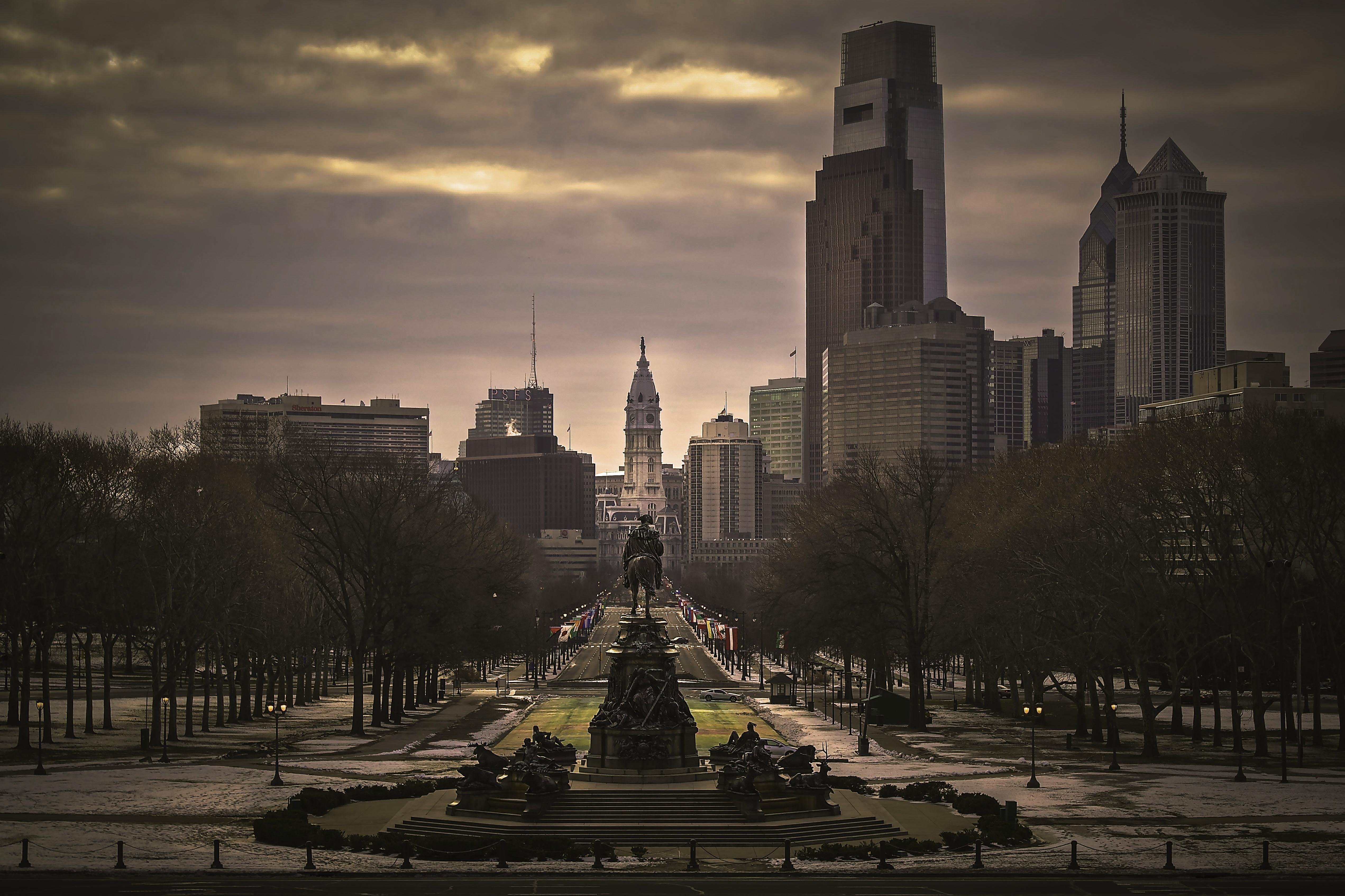 Филадельфия, США, город