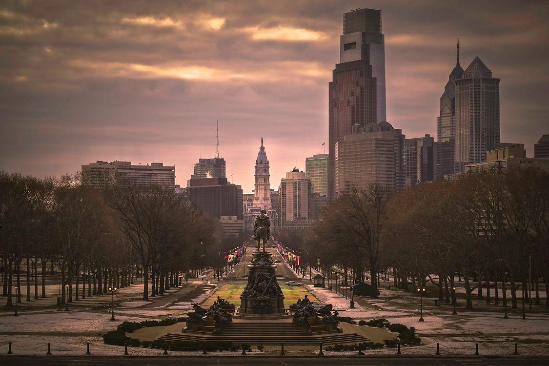 Фото бесплатно Филадельфия, США, город, город