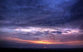 Фото бесплатно вечер, горизонт, солнце