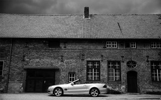 Photo free Mercedes, cabriolet, silver