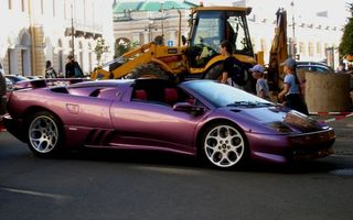 Photo free lamborghini, cabriolet, city