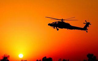Бесплатные фото вертолет,кабина,винты,хвост,шасси,пулемет,полет