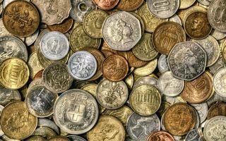 Бесплатные фото монеты,мелочь,копейки