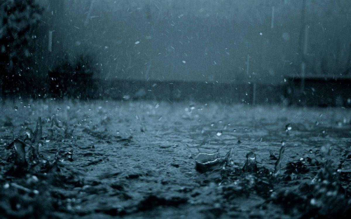 Фото бесплатно вода, лужи, брызги, дождь, капли, погода, разное