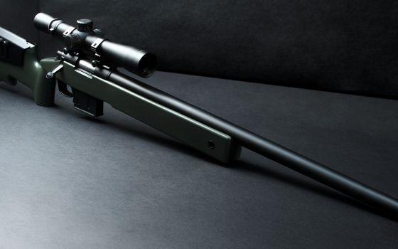 Фото бесплатно винтовка, ствол, прицел