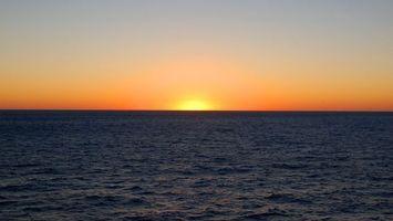 Фото бесплатно вечер, солнце, море