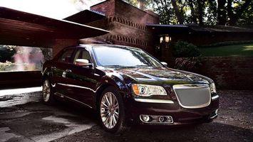 Бесплатные фото chrysler sedan, черный