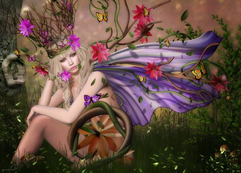 Фото бесплатно фэнтези девушка, фэнтези, стиль