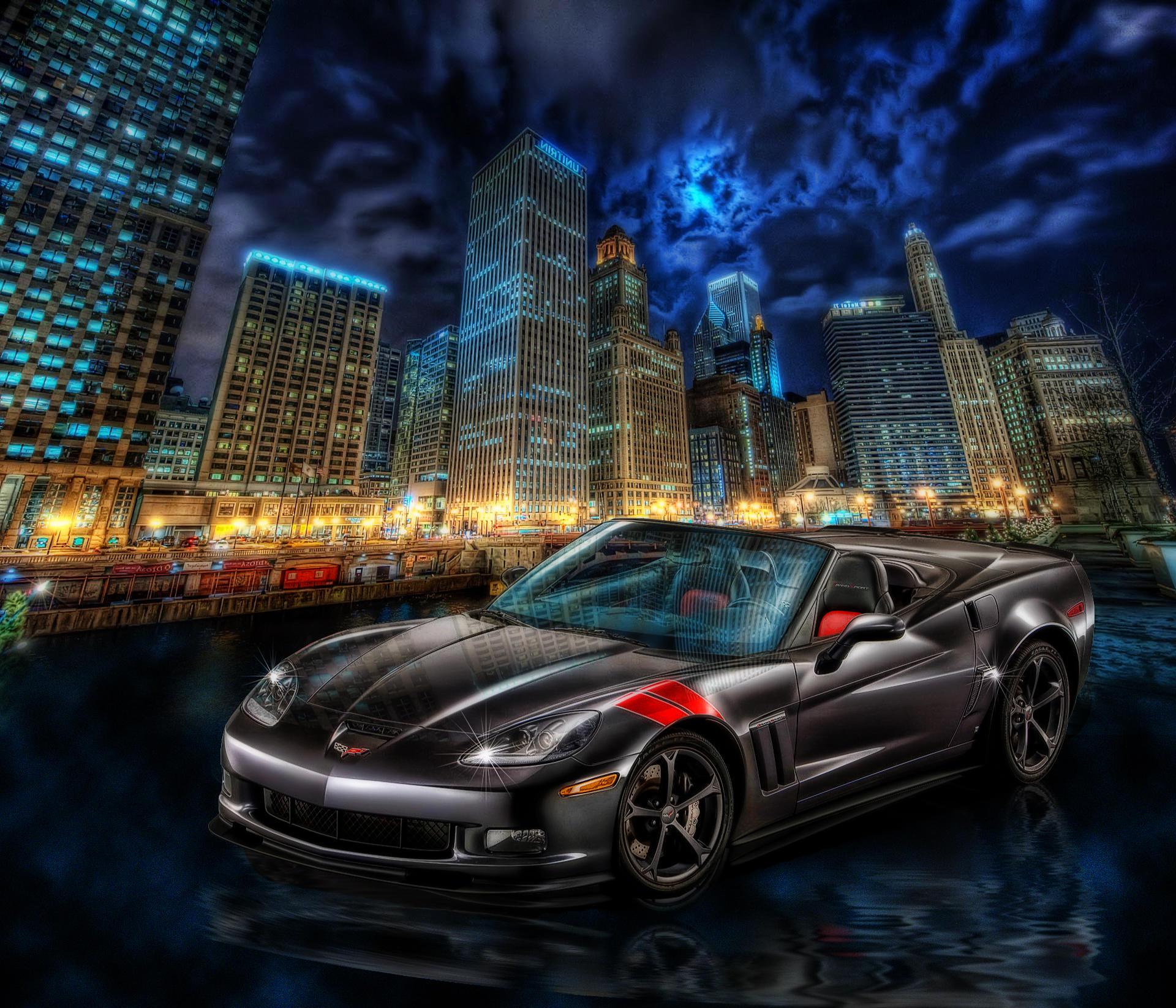 Обои автомобиль, машина, corvette, Шевроле
