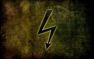 Бесплатные фото знак,разряд,электричество,опасно,стрела,заставка