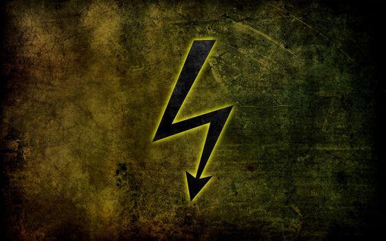 Фото бесплатно знак, разряд, электричество