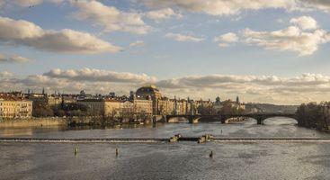 Бесплатные фото Prague,Czech Republic,Прага,Чехия,панорама