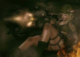 Бесплатные фото девушка воин,фантастическая девушка,девушка,фантастика,art