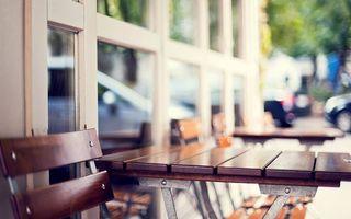 Фото бесплатно кофешка, улица, столик