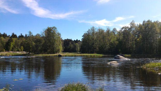 Фото бесплатно Приозерск, на рыбалку, заводь