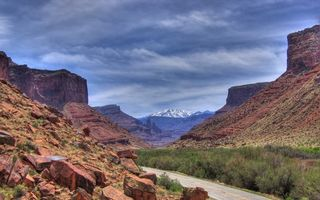 Фото бесплатно дорога, скалы, камни