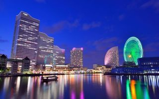 Фото бесплатно мегаполис, Япония, небоскребы