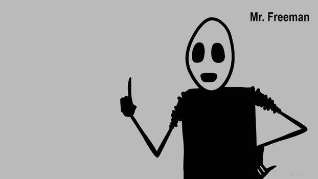 Photo free Mr Freeman, character, animation