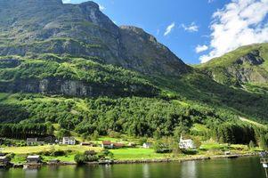 Фото бесплатно Norway fjord, Фьорд, Норвегия