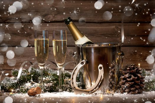 Photo free glasses, New year wallpapers, Champagne