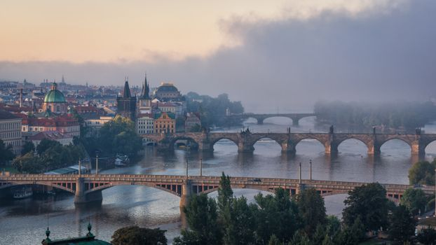 Фото бесплатно Прага, Чехия, рассвет