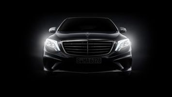Photo free Mercedes, lights, light
