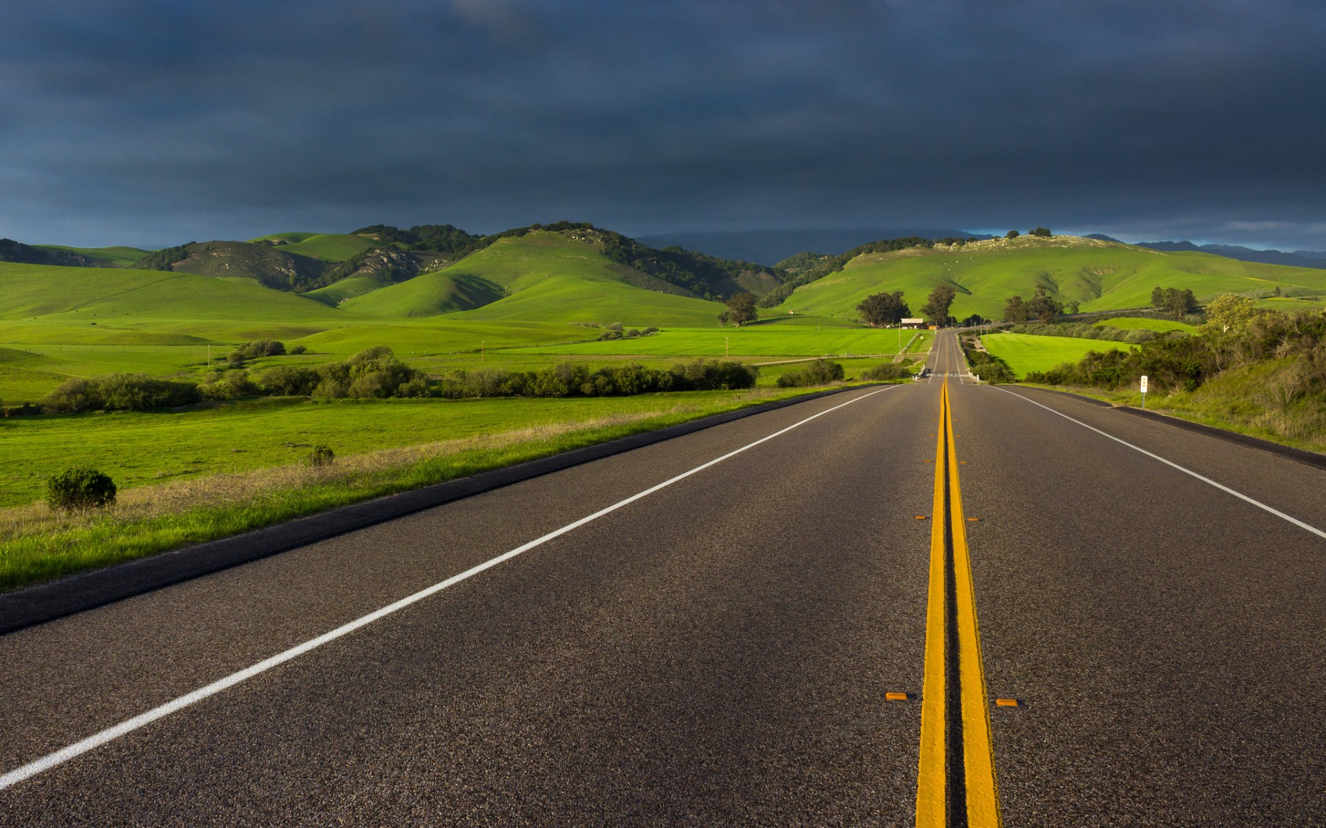 Чистые красивые дороги фото