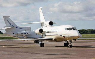Фото бесплатно самолеты бизнес класса, крылья, хвосты