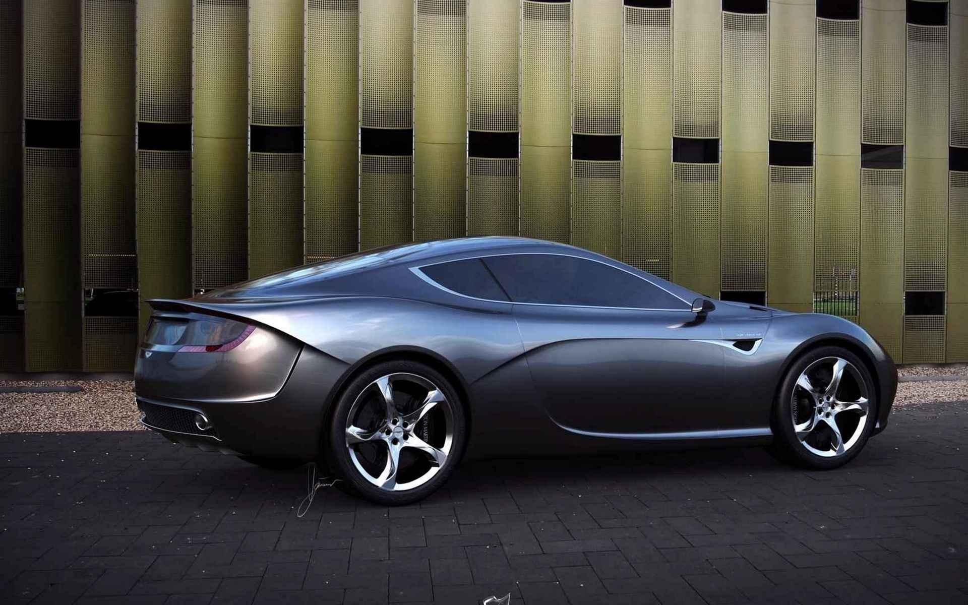 черный автомобиль aston martin ar1  № 224463 бесплатно