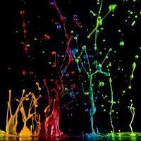 Капли краски