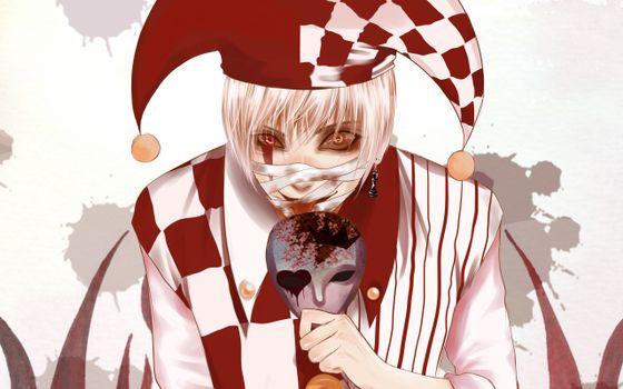 Бесплатные фото клоун,злость,кровь,маска,бинты