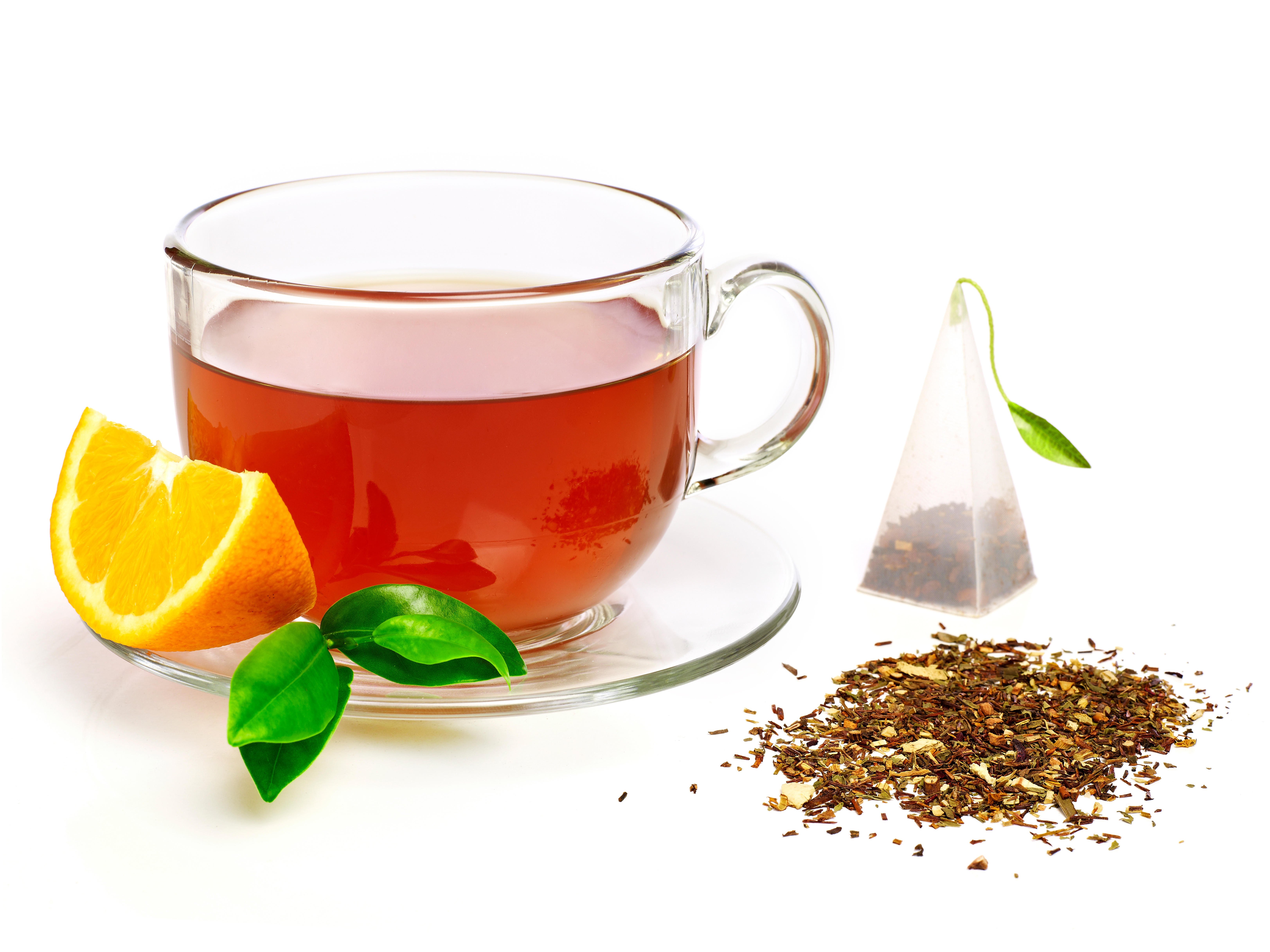 Обои чай, кружка, лимон